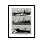 Alaska Ranger Framed Panel Print