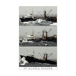 Alaska Ranger Rectangle Sticker
