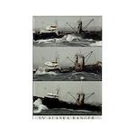 Alaska Ranger Rectangle Magnet (100 pack)