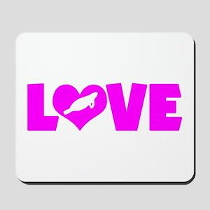 LOVE MANATEES Mousepad
