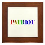 Patriot Framed Tile