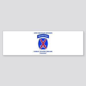 DUI - Combat Aviation Brigade with text Sticker (B