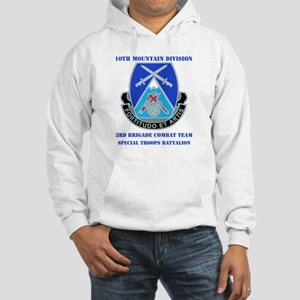 3rd BCT - Special Troops Bn with Text Hooded Sweat