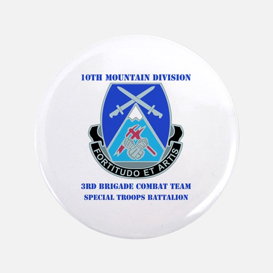 """3rd BCT - Special Troops Bn with Text 3.5"""" Button"""