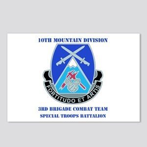3rd BCT - Special Troops Bn with Text Postcards (P