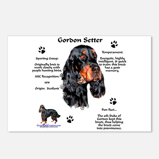 Gordon 1 Postcards (Package of 8)