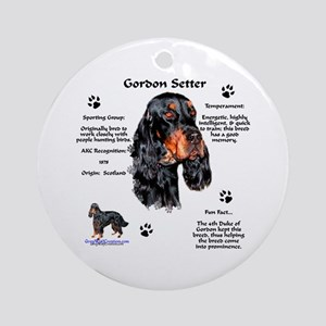 Gordon 1 Ornament (Round)
