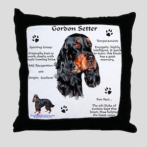 Gordon 1 Throw Pillow