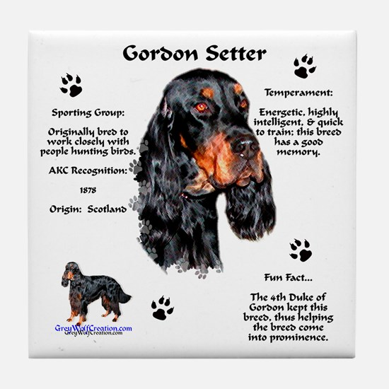 Gordon 1 Tile Coaster
