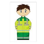 Ambulance Paramedic Postcard (Pk of 8)