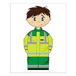 Ambulance Paramedic Small Poster