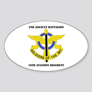 DUI - 2nd Aslt Bn - 10th Aviation Regt with Text S
