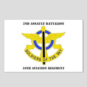 DUI - 2nd Aslt Bn - 10th Aviation Regt with Text P