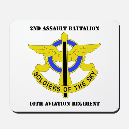 DUI - 2nd Aslt Bn - 10th Aviation Regt with Text M