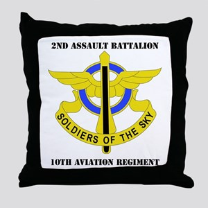 DUI - 2nd Aslt Bn - 10th Aviation Regt with Text T