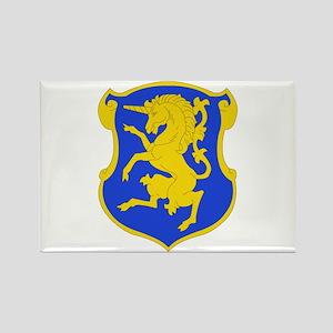 DUI - 6th Sqdrn - 6th Cavalry Regt Rectangle Magne