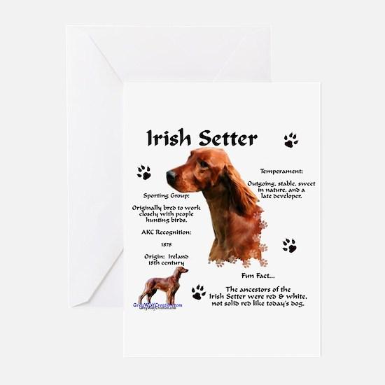 Irish Setter 1 Greeting Cards (Pk of 10)