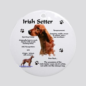 Irish Setter 1 Ornament (Round)