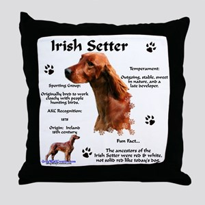 Irish Setter 1 Throw Pillow