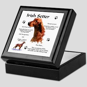 Irish Setter 1 Keepsake Box