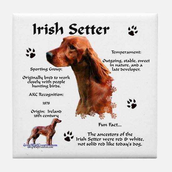 Irish Setter 1 Tile Coaster