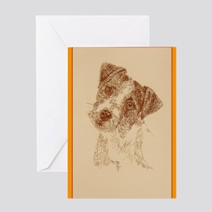 Jack Russell Terrier Rough Greeting Card