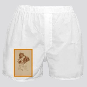 Jack Russell Terrier Rough Boxer Shorts