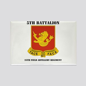 DUI - 5th Bn - 25th Field Artillery Regt with Text
