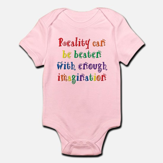 Reality Can be Beaten Infant Bodysuit