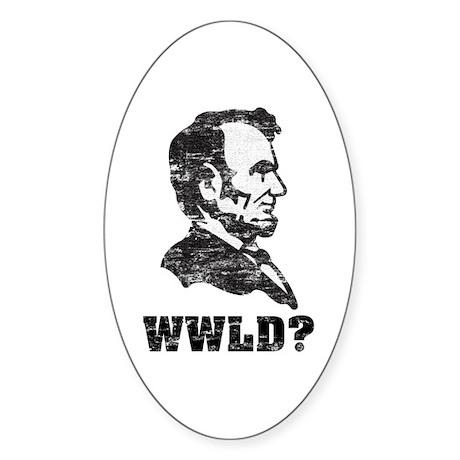 WWLD Sticker (Oval)