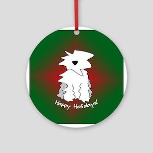 Old English Sheepdog Holiday Ornament