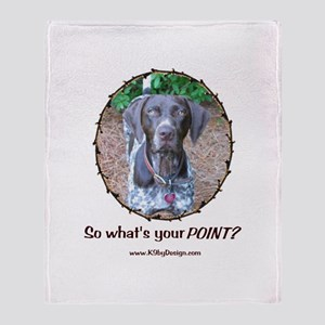 your POINT? Throw Blanket