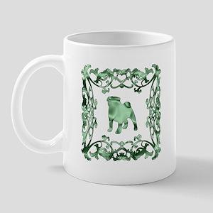 Pug Lattice Mug