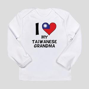 I Heart My Taiwanese Grandma Long Sleeve T-Shirt