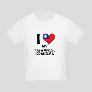 I Heart My Taiwanese Grandma T-Shirt