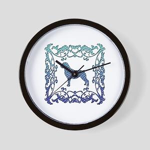 Rottweiler Lattice Wall Clock