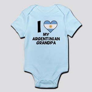 I Heart My Argentinian Grandpa Body Suit