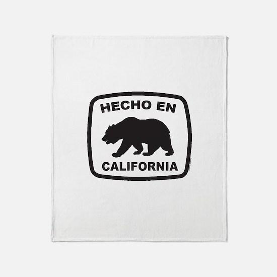 Cute Made california Throw Blanket