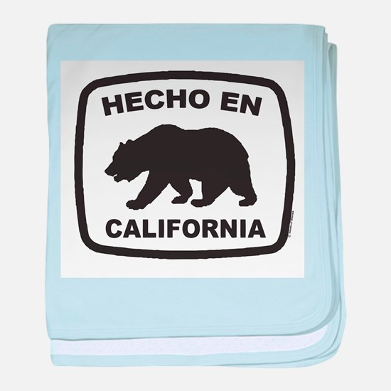 Funny Made in california baby blanket