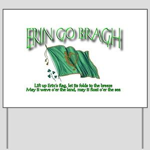 Erin Go Bragh Yard Sign