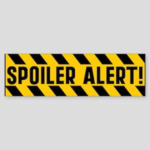 Spoiler Alert Sticker (Bumper)