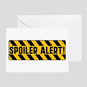 Spoiler Alert Greeting Card