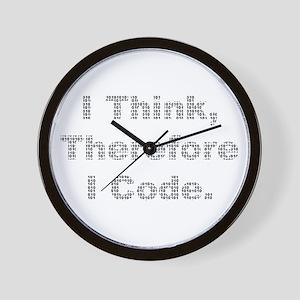 """""""Think --> Code"""" Wall Clock"""