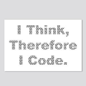 """Think --> Code"" Postcards (Package of 8)"