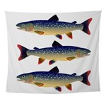 Dolly Varden Trout Wall Tapestry
