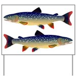 Dolly Varden Trout Yard Sign
