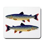 Dolly Varden Trout Mousepad