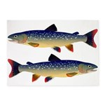 Dolly Varden Trout 5'x7' Area Rug