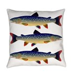 Dolly Varden Trout Everyday Pillow