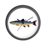 Dolly Varden Trout Wall Clock